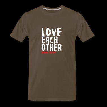Love Each Other - Men's Premium T-Shirt
