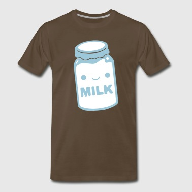 milk - Men's Premium T-Shirt