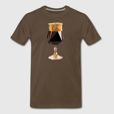 Stout (BEER ART) - Men's Premium T-Shirt