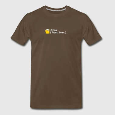 CSS Jokes - Drink Beer! - Men's Premium T-Shirt