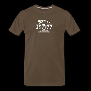 Born in 1977 - Men's Premium T-Shirt