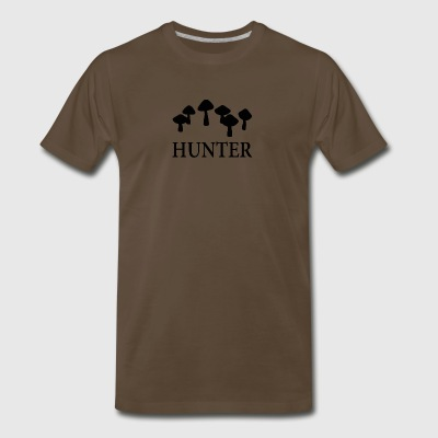 Mushroom Hunter - Men's Premium T-Shirt