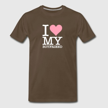 I Love My Boyfriend! - Men's Premium T-Shirt