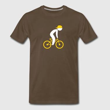 A Cyclist - Men's Premium T-Shirt