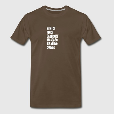 Wine On Wine - Men's Premium T-Shirt