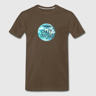 Crazy Crafter Picture - Men's Premium T-Shirt