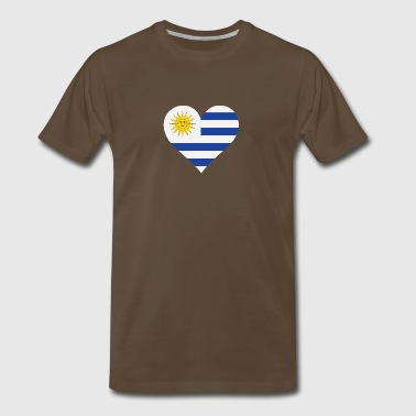 A Heart For Uruguay - Men's Premium T-Shirt