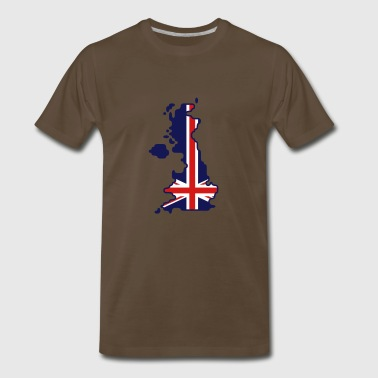 Bremojis UK map - Men's Premium T-Shirt