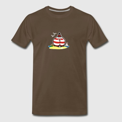 Assmex lighthouse - Men's Premium T-Shirt