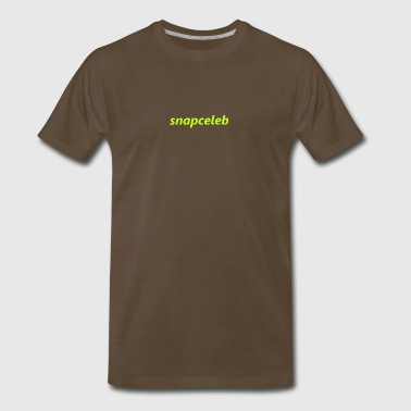 snapceleb fluo green - Men's Premium T-Shirt