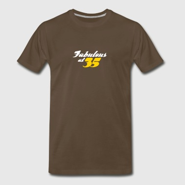 35 Years Old And Fabulous! - Men's Premium T-Shirt