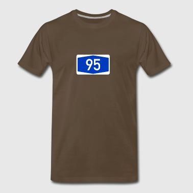 Number 95 - Men's Premium T-Shirt
