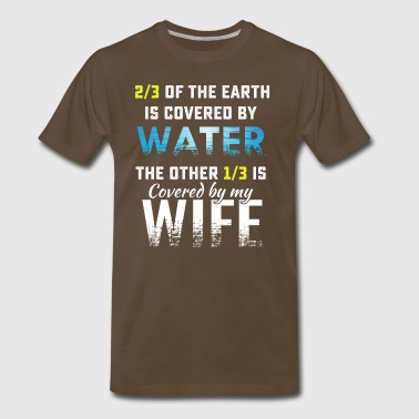 Crazy wife tee shirt - Men's Premium T-Shirt