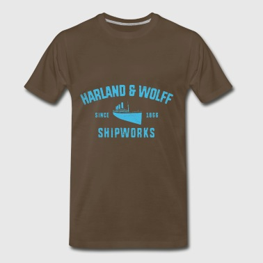 Harland and Wolff - Men's Premium T-Shirt