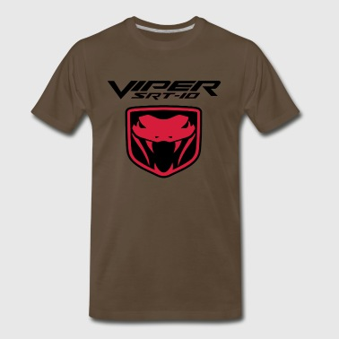 VIPER SRT10 LOGO - Men's Premium T-Shirt