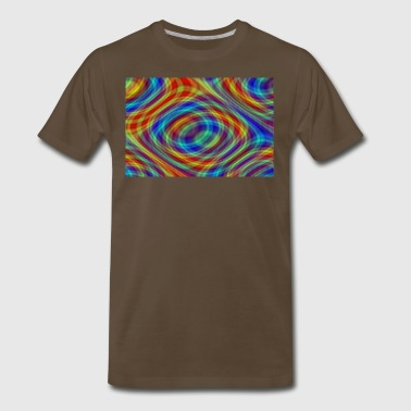 Circular Static Hallucinations - Men's Premium T-Shirt
