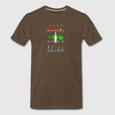 Space X-mas - Men's Premium T-Shirt