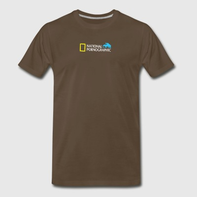 National Pornographic - Men's Premium T-Shirt