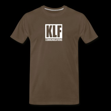 KLF Communications Men s T Shirt Black - Men's Premium T-Shirt