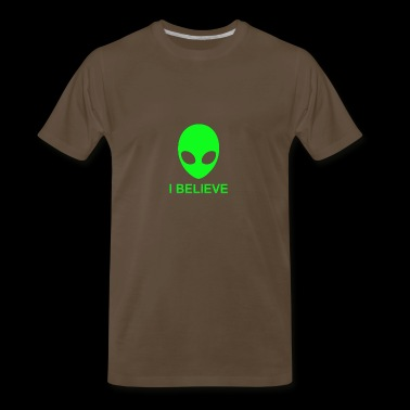 I Believe Alienware - Men's Premium T-Shirt
