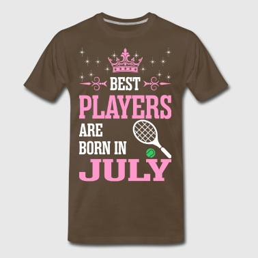 Best Players Are Born In July - Men's Premium T-Shirt