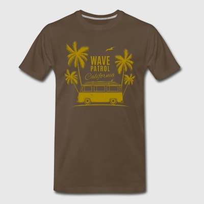 Wave Patrol California - Men's Premium T-Shirt