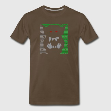 Mighty Ork Orc Ogre Warrior - Men's Premium T-Shirt