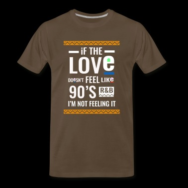 Cool 90s r and b music lover Tee - Men's Premium T-Shirt