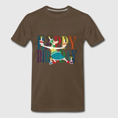 Make a Wish Unicorn - Men's Premium T-Shirt