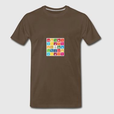 global goals - Men's Premium T-Shirt