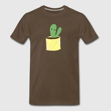 Cactus1 by Julia - Men's Premium T-Shirt