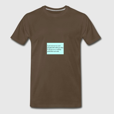 RelationshipQoute - Men's Premium T-Shirt