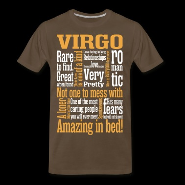 Virgo Amazing In Bed - Men's Premium T-Shirt