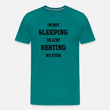 Resting My Eyes - Men's Premium T-Shirt