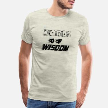 Writing words of wisdom - Men's Premium T-Shirt