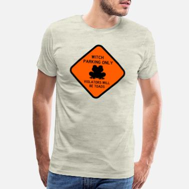 Crystal Halloween, Witch Parking Only - Men's Premium T-Shirt