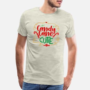 High School Graduate Candy Cane Cutie - Men's Premium T-Shirt