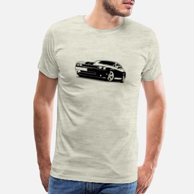 Highway To Hell Dodge Challenger SRT Hellcat - Men's Premium T-Shirt