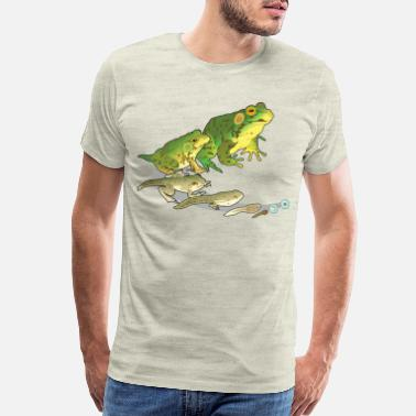 Frog Green frog - Men's Premium T-Shirt