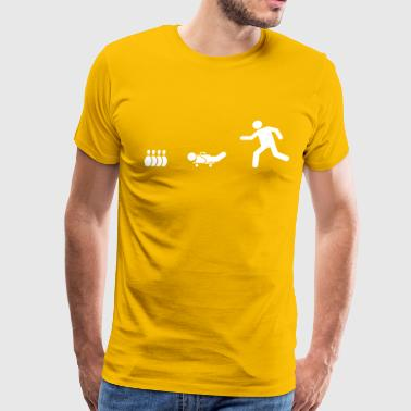 Midget Throwing - Men's Premium T-Shirt
