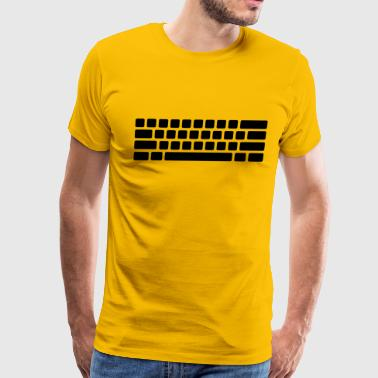 Computer keyboard - Men's Premium T-Shirt