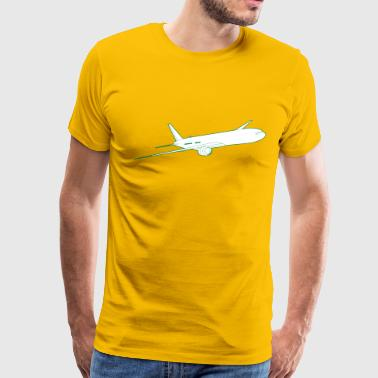 Boeing 777 - Men's Premium T-Shirt
