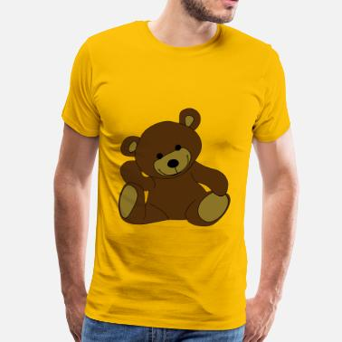 Teddy Teddy, Teddy Bear, stuffed animal - Men's Premium T-Shirt
