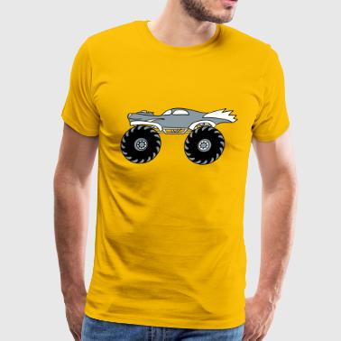 small cool monster truck turbo - Men's Premium T-Shirt