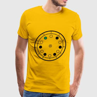 Centrifuge illutration - Men's Premium T-Shirt
