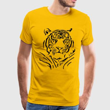 Majestic tiger - Men's Premium T-Shirt
