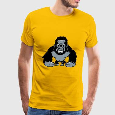 Gorilla agro monkey cool - Men's Premium T-Shirt
