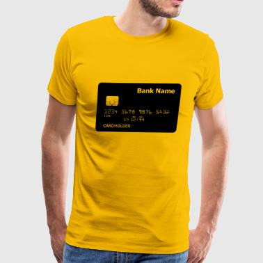 B W credit card - Men's Premium T-Shirt