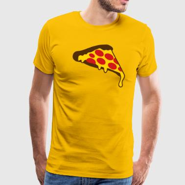 pizza slice pepperoni - Men's Premium T-Shirt