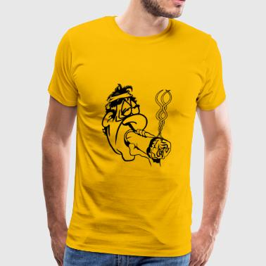 Kiffen jointly broad stoned - Men's Premium T-Shirt